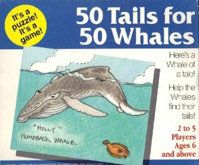 Homebodies, Inc. Tails For Whales Board Game