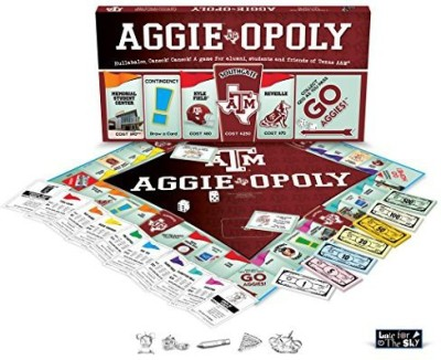 Late for the Sky Texas A And M Aggieopoly Board Game