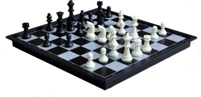 The House of Staunton, Inc. Quality Magnetic Travel Chess & Checkers Set Board Game