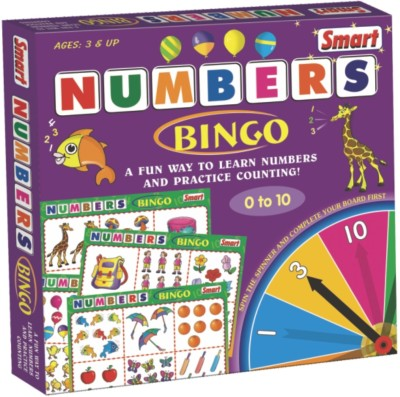 Smart Numbers Bingo Board Game