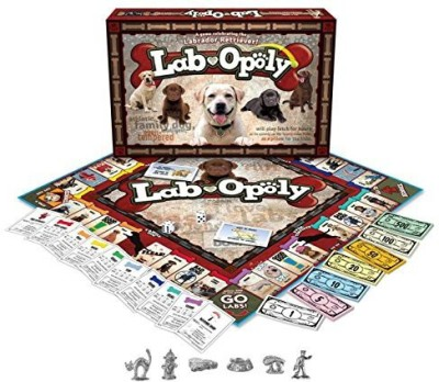 Late for the Sky Labopoly Board Game