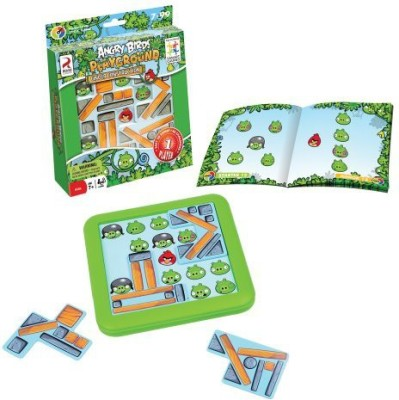 SmartGames Angry Birds Under Construction Board Game