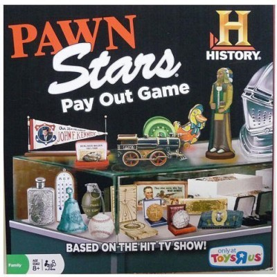 Cardinal Industries Pawn Stars Board Game