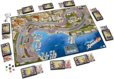Funskool Asmodee Formula D Board Game