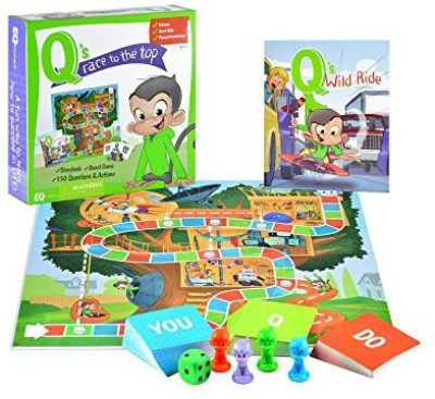 EQtainment Q,S Race To The Top Educational With Book Social Board Game