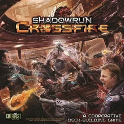 Catalyst Game Labs Shadowrun Crossfire Base Board Game