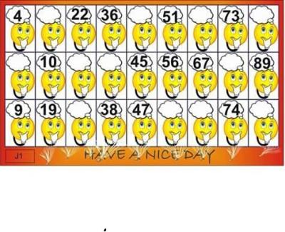 creative design tambola tickets Board Game