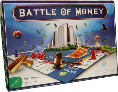 Folks Work Battle Of Money Board Game