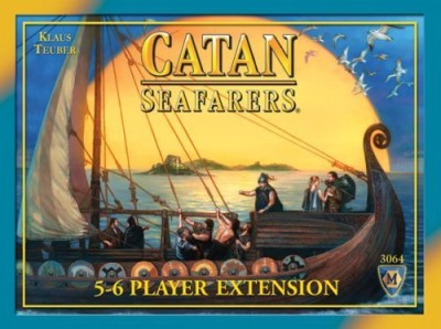 Mayfair Games Catan Seafarers 5&6 Player Extension 4Th Edition Board Game