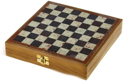 Nakkashee Marble Stone Art Unique India Chess Pieces And Set 10 X 10 Board Game