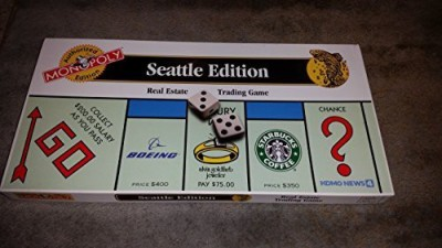 Monopoly (Seattle Edition) Board Game