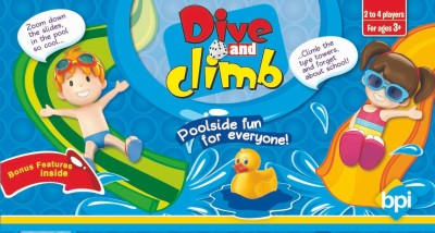 BPI SMALL DIVE & CLIMB - DORAEMON Board Game