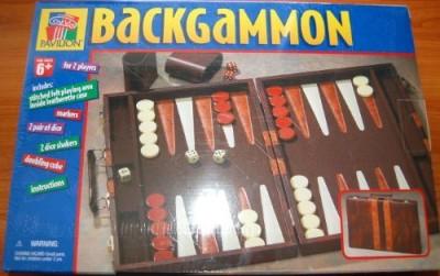 Premier Edition backgammon Board Game