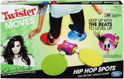 Hasbro Twister Moves Hip Hop Spots Board Game