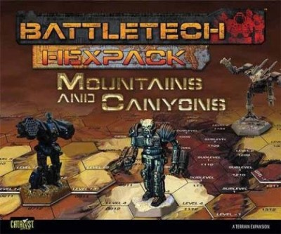 Catalyst Game Labs Battletech Hexpack Mountains And Canyons Board Game