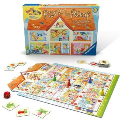 Ravensburger Race To The Roof Children,S Board Game