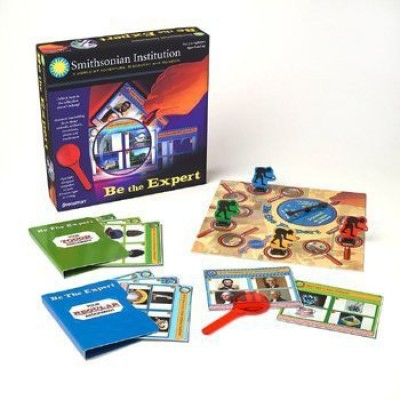 Pressman Toy Smithsonian Be The Expert Board Game