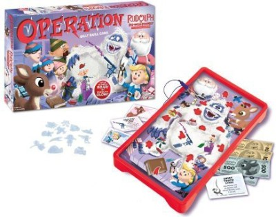 Operation Rudolph The Red Nosed Reindeer Board Game
