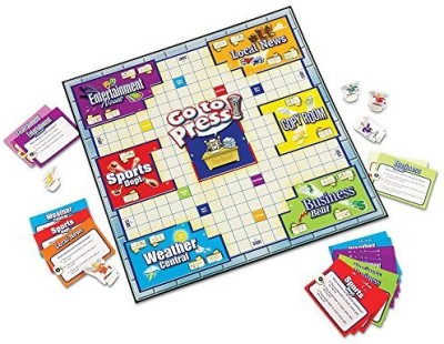 Learning Resources Go To Press Board Game