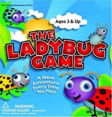 Zobmondo!! Zobmondo Entertainment The Ladybug Board Game