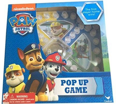 Cardinal Nickelodeon Paw Patrol Pop Up Board Game