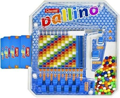 Quercetti Pallino Colored Ball Mosaic Board Game