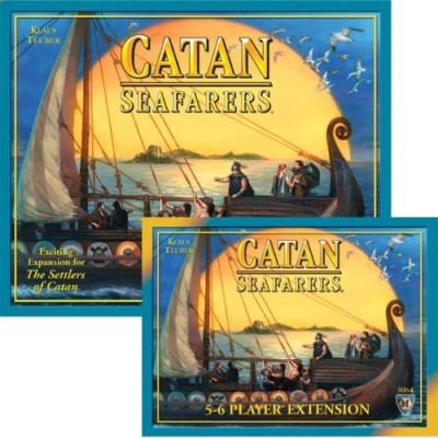 Mayfair Games Settlers Of Catan Seafarers Expansion And 56 Player Board Game