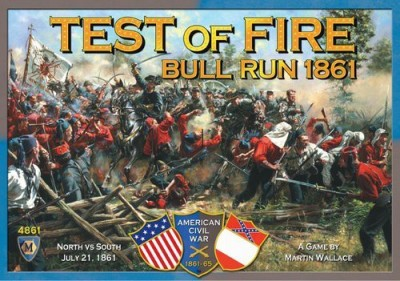 Mayfair Games Test Of Fire First Bull Run 1861 Board Game