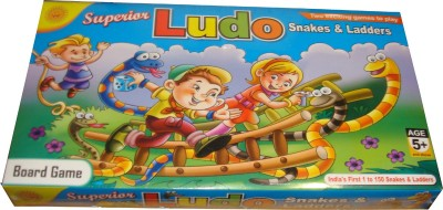 Toyzstation Superior Ludo Snakes & Ladders Board Game