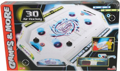 Simba Plastic Air Hockey With 3d Effect Board Game