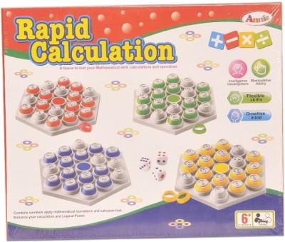 Annie Rapid Calculation Board Game