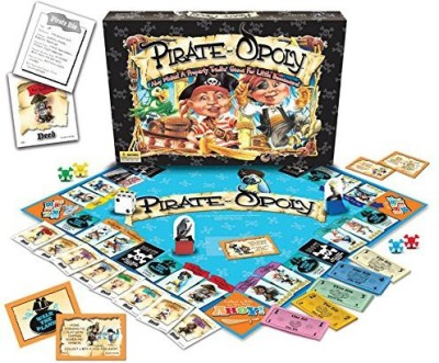 Late for the Sky pirateopoly Board Game