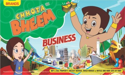 Park's Chhota Bheem Business Board Game