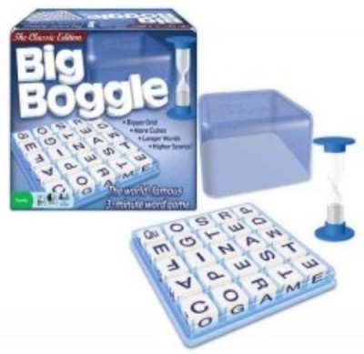 Winning Moves Big Boggle Board Game