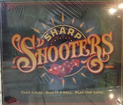 Milton Bradley Sharp Shooters Take A Risk Give It A Roll Play The Board Game