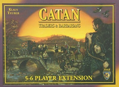 Mayfair Games Catan Traders & Barbarians 56 Player Extension 4Th Edition Board Game