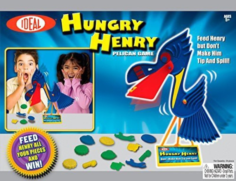 Ideal Hungry Henry Pelican Board Game