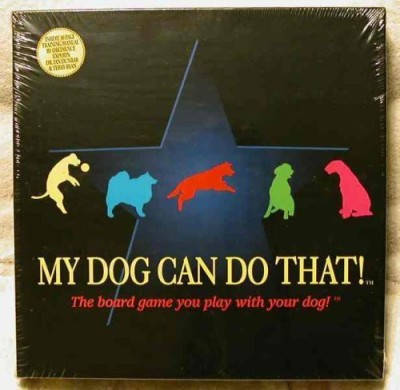 No Guts No Glory My Dog Can Do That Board Game
