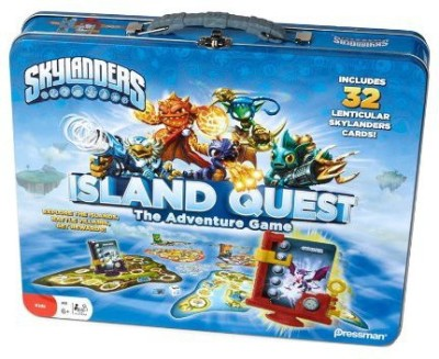 Pressman Toy Skylanders Island Quest In Tin Board Game