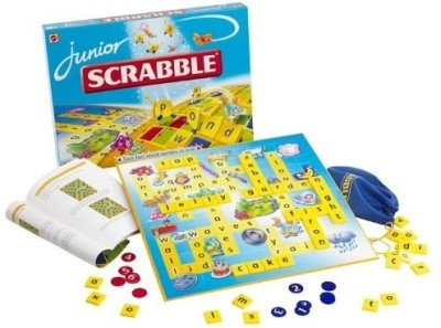 Hot Wheels Scrabble Junior - English Board Game