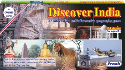 Frank Discover India Board Game