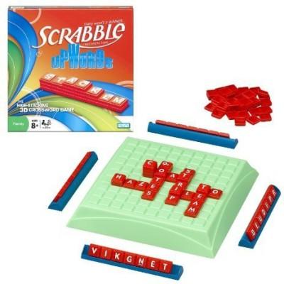 Hasbro Scrabble Upwords Board Game