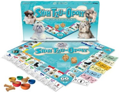 Late for the Sky Shih Tzuopoly Board Game