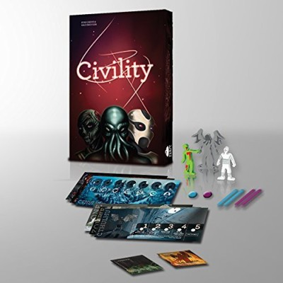 Bed Beard Games Civility 5 To 6 Player Expansion Board Game