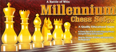 Manoj Enterprise Chess Set Deluxe Board Game