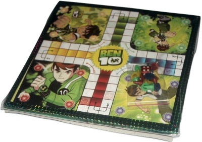 Globalgifts Ben 10 Ludo and Snake's and Ladder's Board Game