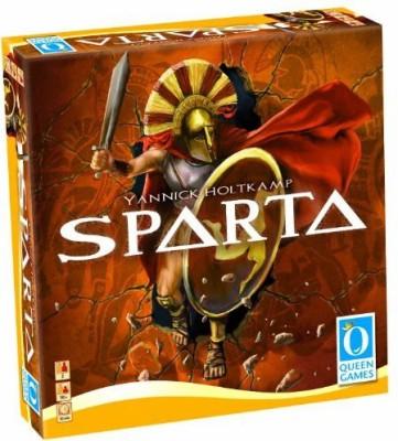 Queen Games Sparta International Edition Board Game