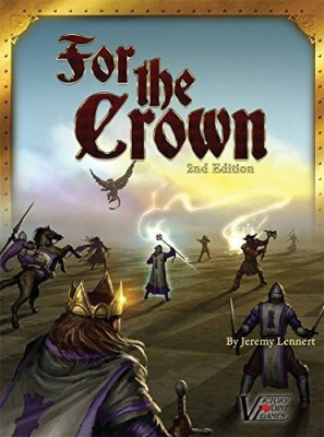 Victory Point Games For The Crown Fantasy Deckbuilding Boxed Board Game