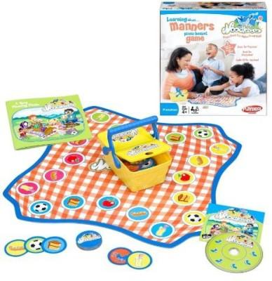 Playskool Noodleboro Picnic Basket Manners Board Game