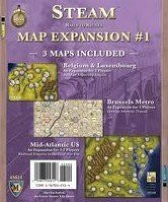 Mayfair Games Martin Wallace Steam Expansion No1 Board Game